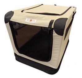 ASPCA Soft Crate, Small, Tan
