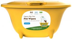 Organic Unscented Pet Wipes