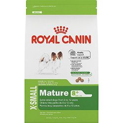 Royal Canin SIZE HEALTH NUTRITION X-SMALL Mature 8+ dry dog food, 2.5-Pound