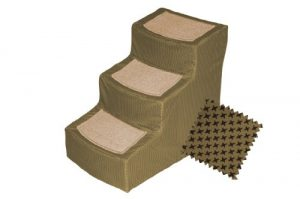Pet Gear Designer 3-Step with Removable Cover, Pet Stairs, Tan