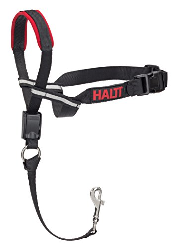 The Company of Animals – HALTI Opti Fit Head Collar – Adjustable and Padded Gentle Leader – No Pull, No Pain – Includes Training DVD and Guide – Medium