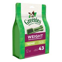 Greenies Weight Management TEENIE Dental Dog Chews – 12 Ounces 43 Treats