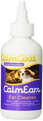 Vet Essentials Calm Ears Ear Cleanse Liquid for Pets, 4-Ounce