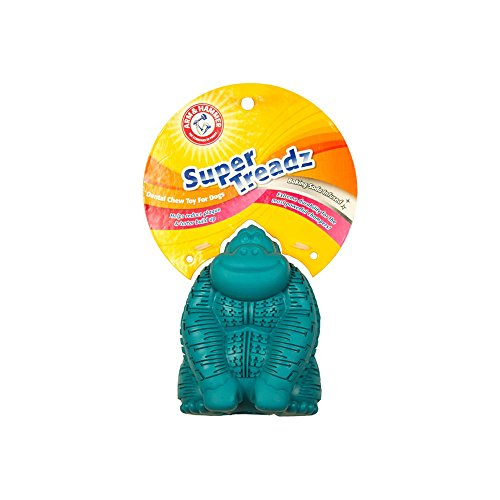 Arm & Hammer Super Treadz Gorilla Toy for Dogs | Best Dental Chew Toy For All Dogs | Reduces Plaque & Tartar Buildup Without Brushing