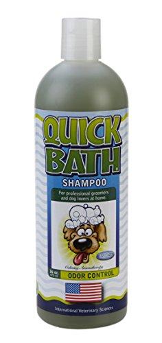 Quick Bath Odor Control Shampoo for Dogs, 16 oz
