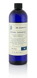 Dr. Harvey's Organic Shampoo with Real Essential Herbs, 16-Ounce Bottle