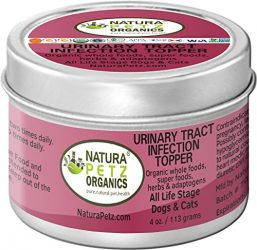 Natura Petz Organics UTI2DOGTOPPER Urinary Tract Infection Meal Topper for Dogs