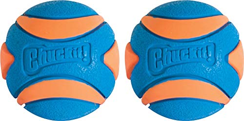 CHUCKIT Ultra Squeaker (2 Pack), Small