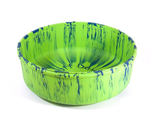 Ruff Dawg Rubber Dog Bowl Large Assorted Colors