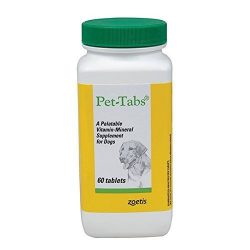 Pet Tabs Original Formula Vitamin Supplement, 60 Count