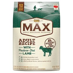 Nutro MAX Adult Recipe With Pasture Fed Lamb Dry Dog Food, (1) 25-lb. bag; Rich in Nutrients and Full of Flavor