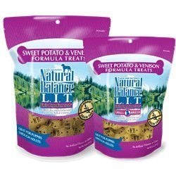 Natural Balance 723633606080 LIT TREAT LIT VENISON & SWEET POTATO 8oz