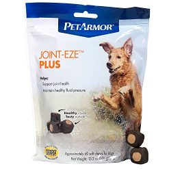 PETARMOR Joint-Eze Plus for Dogs, 60 count