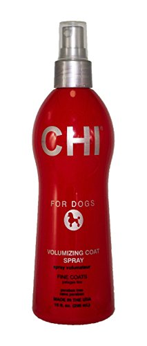 CHI For Dogs Volumizing Coat Spray | Best Paraben Free Dog Spray For All Dogs With Fine Coats, 10 ounces