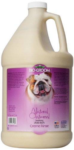 Bio-Groom Natural Oatmeal Anti-Itch Pet Creme Rinse, 1-Gallon