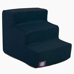 Majestic Pet 3 Step Navy Blue Suede Pet Stairs By Products