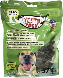 Ilio Dentals Teeth Treat Dog Dental Treats, X-Small,57 Treats