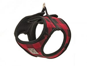RC Pet Products Cirque Soft Walking Step-In Dog Harness, Medium, Red Buffalo