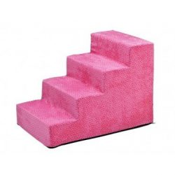 Bowsers 9503 Pet Steps, Flamingo Bones, 6 Step