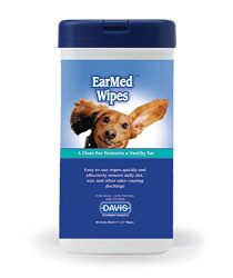Davis 40 Count EarMed Wipes, 5 x 6