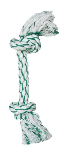 Dogit Knotted Rope Bone Toy, Mint, Small