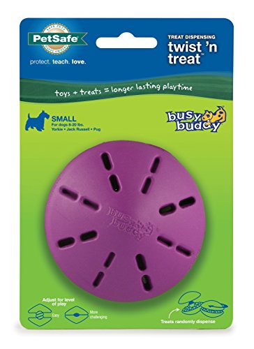 PetSafe Twist 'n Treat Dog Toy, Use with Food or Treats