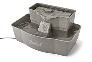 PetSafe Drinkwell Multi-Tier Dog and Cat Water Fountain, Pet Drinking Fountain, 100 oz. Water Capacity