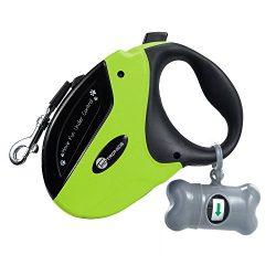TaoTronics TT-PA001G Retractable Dog Leash, Green, Large