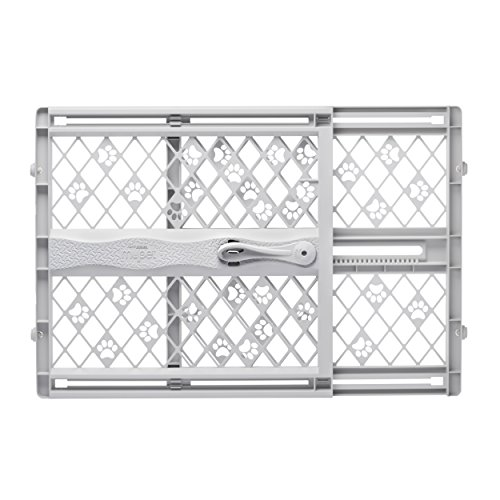 North States Pet MyPet Paws Portable Pet Gate fits Openings 26″ to 42″ Wide