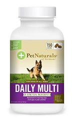 Pet Naturals of Vermont – Daily Multi for Dogs, Daily Multivitamin Formula, 150 Bite Sized Chews