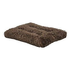 MidWest Homes for Pets Plush Dog Bed | Coco Chic Dog Bed & Cat Bed | Cocoa 36L x 24W x 2H – Inches for Med./Large Dog Breeds