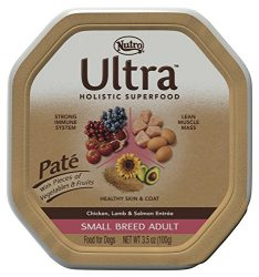 Nutro ULTRA Small Breed Adult Pate Dog Food, 3.5 oz. (Pack of 24)