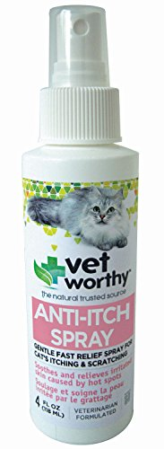 Vet Worthy Anti-Itch Spray for Cats (4oz)