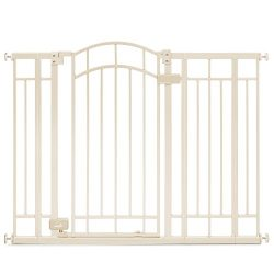 Summer Infant Multi-Use Deco Extra Tall Walk-Thru Gate, Beige