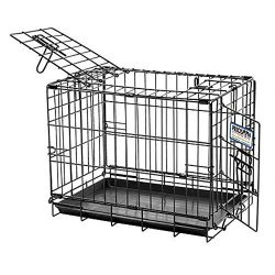 Precision Pet Petmate 2 Door Great Crate Precision Lock System Wire Dog Crate, 6 Sizes