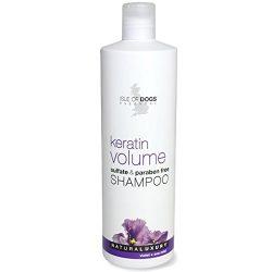 Isle of Dogs Keratin Volume Sulfate Free Shampoo, 16 Fluid Ounce
