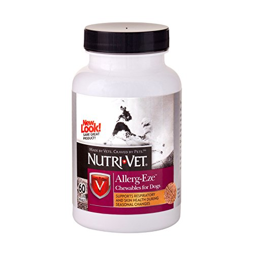 Nutri-Vet Allerg-Eze Canine Chewables, 60 Count