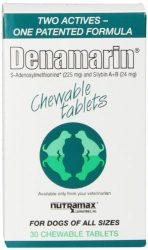 Nutramax Laboratories Denamarin Chewables, 30 Count
