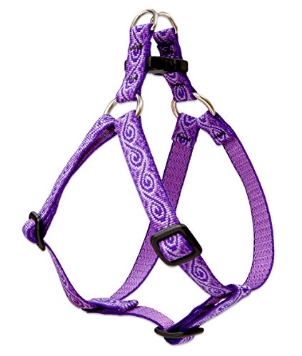 LupinePet Originals 1/2 Jelly Roll 12-18 Step In Harness for Small Dogs