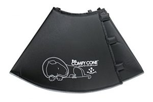 All Four Paws The Original Comfy Cone, Soft Pet Recovery Collar with Removable Stays,Xlarge 30 cm