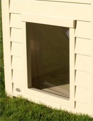New Age Pet Dog House Vinyl Flap Door – Large