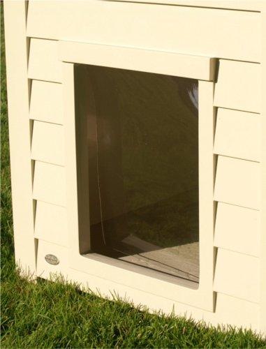 New Age Pet Dog House Vinyl Flap Door – Large
