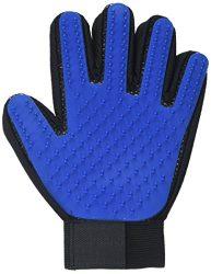 Pet Grooming Glove – Efficient Pet Hair Remover Mitt – cat grooming glove -pet hair removal glove
