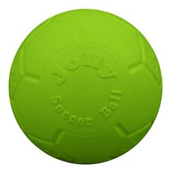 Jolly Pets 6″ Soccer Ball, Green Apple, Small/Medium