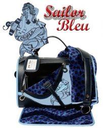 Pet Flys Sailor Bleu Regular Size Pet Carrier