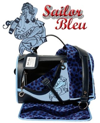 Pet Flys Sailor Bleu Regular Size Pet Carrier