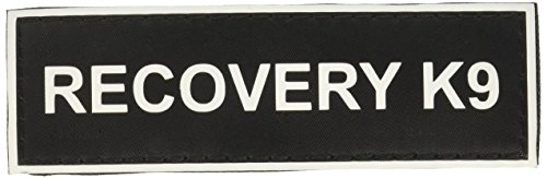 """Recovery K9"" Medium nylon velcro patches by Dean & Tyler."