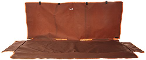 Pet Life Open Road' Full Back Seat Safety Child Pet Cat Dog Car Seat Carseat Cover Protector, One Size, Brown