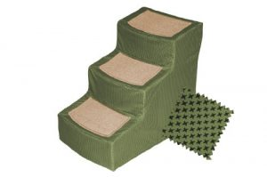 Pet Gear PG9823DSG Designer with Removable Cover, Pet Stairs, Sage