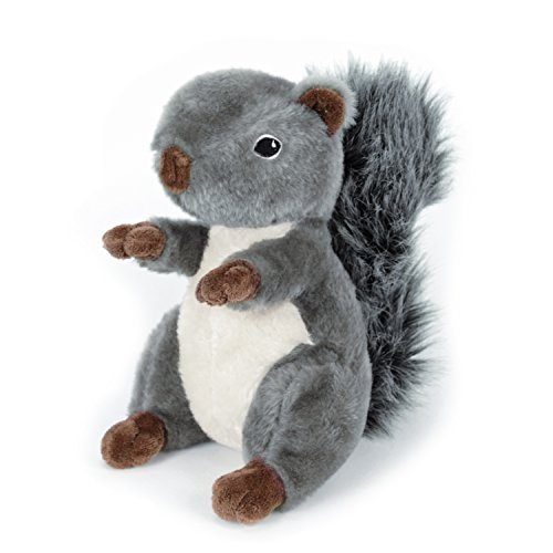 Martha Stewart Squirrel Plush Dog Toy for Gentle Play